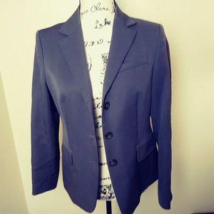 J crew gray 3 button blazer